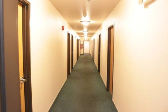 Trouts Place Hotel Hallway